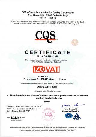 CQS 9001 en